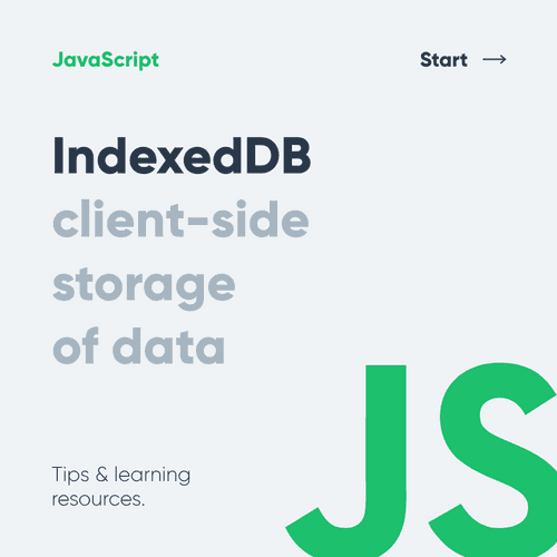 Indexed DB - Client side storage