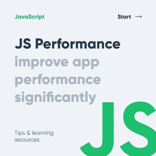 7 tips to improve JS Performance