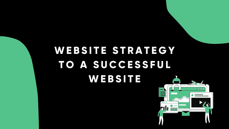 Website strategy to a successful website
