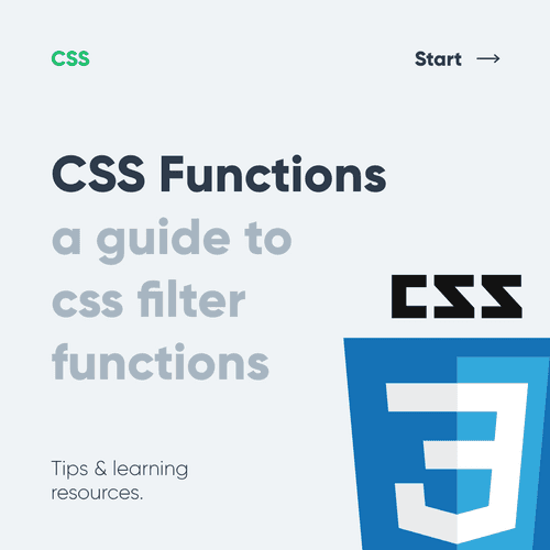 CSS functions - A guide to css filter functions